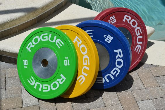 Bumper plates - have lots of colors