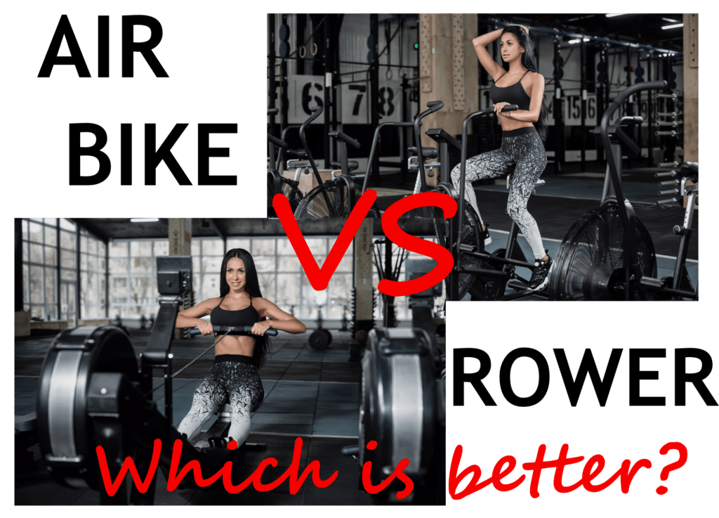 Air Bike or Rower?  Which is the best metcon tool for you?