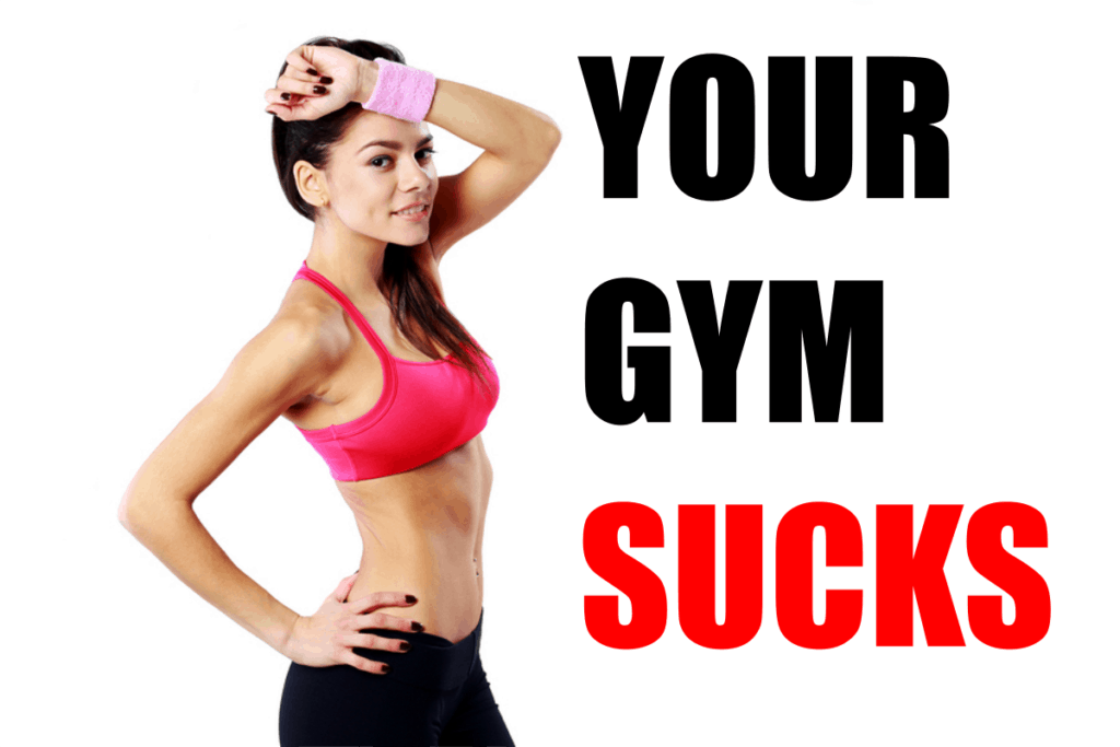 Your Gym Sucks - Reasons the Garage Gym Rules