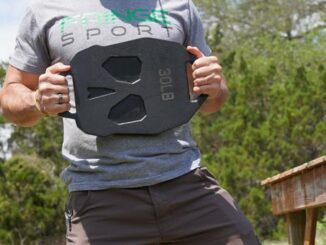 Fringe Sport Bonehead Ruck Weight Plates 30lb with a user