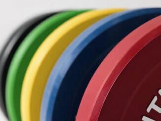 Rep Fitness Color Bumper Plates various colors